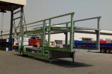 梁山东岳13.8米10.5吨1轴乘用车辆运输半挂车(CSQ9180TCC)