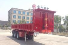祥菏8米31.9吨3轴自卸半挂车(JJN9401Z)