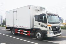 福田欧马可6米2厢体国五冷藏车厂家成本价直降2万13872898522