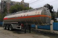 东风牌DFZ9407GYYS型铝合金运油半挂车图片