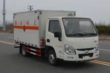 多士星牌JHW5031XRQS型易燃气体厢式运输车