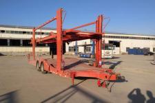 瑞宜达11米10.6吨2轴中置轴车辆运输挂车(LLJ9181TCL)