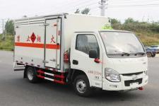 多士星牌JHW5031XRYS型易燃液体厢式运输车