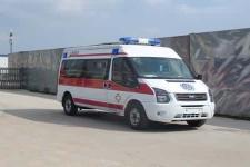 全顺V348短轴中顶监护型救护车厂家直销价18871148999