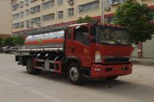 重汽豪沃氧化性物品罐式运输车价格
