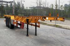 华政14米35吨3轴集装箱运输半挂车(LHZ9400TJZE)
