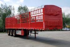 坤博10米34吨3仓栅式运输半挂车