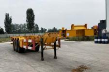 新欣鑫馨14米34.3吨3轴集装箱运输半挂车(LKD9401TJZ)