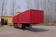 泊龙13米32吨3轴厢式运输半挂车(SJL9400XXY)