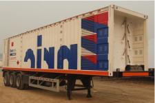 安瑞科12.5米5.5吨3轴易燃气体罐式运输半挂车(HGJ9401GRQ)