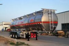 万事达12米33.3吨3轴铝合金易燃液体罐式运输半挂车(SDW9406GRY)