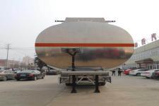 醒狮牌SLS9351GYY型铝合金运油半挂车图片
