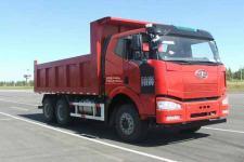 解放后双桥,后八轮平头柴油自卸车国五350马力(CA3250P66K2L2T1A1E5)