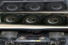 醒狮牌SLS9401GYYA型铝合金运油半挂车图片