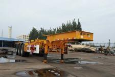 万事达10.9米34吨3轴危险品罐箱骨架运输半挂车(SDW9400TWY)