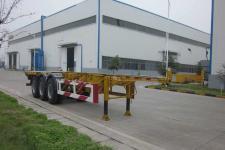 万事达12.3米34.4吨3轴危险品罐箱骨架运输半挂车(SDW9402TWY)
