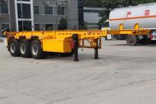固得美9.6米34.5吨3轴危险品罐箱骨架运输半挂车(GDM9401TWY)