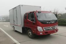 福田奥铃新能源单桥纯电动厢式运输车82马力5吨以下(BJ5049XXYEV2)