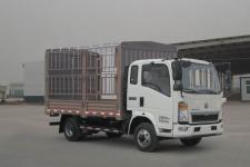 重汽HOWO轻卡国五单桥仓栅式运输车95-143马力5吨以下(ZZ5047CCYF3315E145)