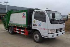 東風多利卡國五6方壓縮式垃圾車廠家直銷