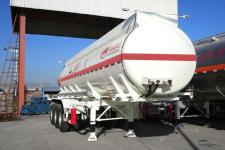 万事达9.9米31.9吨3轴腐蚀性物品罐式运输半挂车(SDW9400GFW)