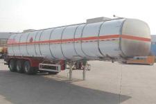 骏通12.5米33.2吨3轴铝合金易燃液体罐式运输半挂车(JF9403GRYB)