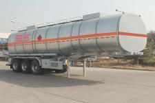 骏通11米33.2吨3轴铝合金易燃液体罐式运输半挂车(JF9407GRYB)