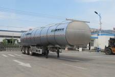 盛润12米33吨3轴铝合金液态食品运输半挂车(SKW9406GYSL)