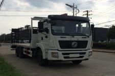國五東風后八輪能拉30噸挖機拖車