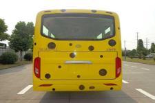 华新牌HM6740LFD5X型客车图片4