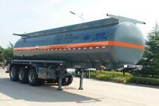 骏通9.9米32.5吨3轴腐蚀性物品罐式运输半挂车(JF9402GFW)