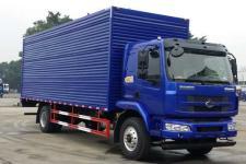 东风柳汽国五单桥厢式运输车180-241马力5-10吨(LZ5185XXYM3AB)