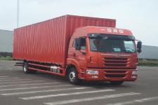 青岛解放国五单桥厢式运输车264-394马力5-10吨(CA5180XXYP2K2L7E5A80)