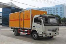 国五东风5米2易燃气体厢式运输车价格直降8000