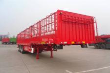 骏通12.5米34吨3轴仓栅式运输半挂车(JF9402CCYEK)