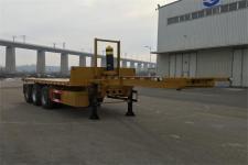 黄海牌DD9400ZZXP型平板自卸半挂车图片