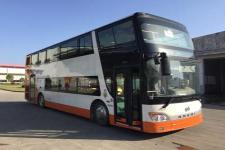 安凯牌HFF6110GS01CE5型双层城市客车图片