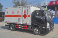 陕汽4米2爆破器材运输车