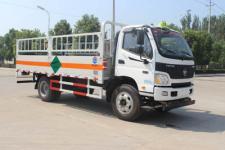 欧马可国五5米2仓栅式气瓶运输车