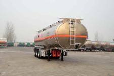 万事达11.2米33.6吨3轴铝合金运油半挂车(SDW9402GYYD)