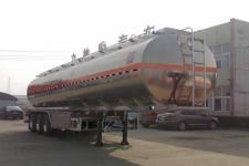 醒狮12.1米33吨3轴铝合金运油半挂车(SLS9401GYYD)