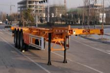 鸿盛业骏14米34.5吨3集装箱运输半挂车