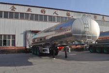 旗林11米33.6吨3轴铝合金液态食品运输半挂车(QLG9402GYS)