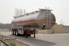 万事达11.2米33.5吨3轴铝合金易燃液体罐式运输半挂车(SDW9400GRYB)