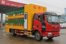 国五解放J6养蜂车