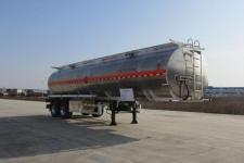 楚胜10.1米25.4吨2轴铝合金运油半挂车(CSC9300GYYLDC)