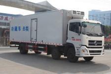 东风天锦前四后四9米4冷藏车三座带卧铺厂家价格
