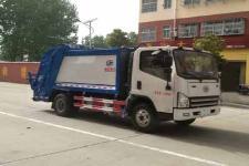 解放6方压缩式垃圾车价格