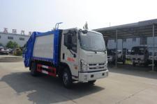 华通牌HCQ5073ZYSBJ5型压缩式垃圾车