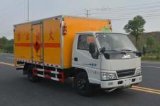 多士星牌JHW5060XRYJ型易燃液体厢式运输车